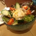 鮨とおつまみ 百万遍 つむぎ - 鮨とおつまみ 百万遍 つむぎのつむぎサラダ(12.11)