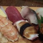 鮨とおつまみ 百万遍 つむぎ - 鮨とおつまみ 百万遍 つむぎのにぎり盛合せ(12.04)
