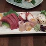 鮨とおつまみ 百万遍 つむぎ - 鮨とおつまみ 百万遍 つむぎの造り盛り合せ(12.04)