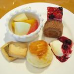 ルピシア - デザート&スコーン(下段)