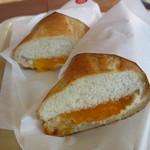 ドトールコーヒーショップ - ツナチェダーチーズ 320円