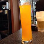肉匠迎賓館 - マンゴーオレンジ(ノンアルコール)365円