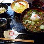 焼肉の龍園 - 【黒毛和牛カルビ丼 850円】
