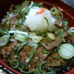 焼肉の龍園 - カルビ丼アップ♪