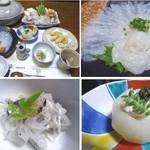 みづ乃 - 温泉トラフグ各種料理
