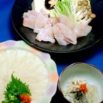 みづ乃 - 温泉トラフグ料理2