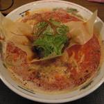 麺喰い メン太ジスタ - ぼっかけのせトリプル白!!坦坦麺