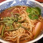 1751113 - 山菜蕎麦アップ写真