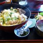 1751667 - びっくり丼 かつ丼と牛スタミナ焼きの2色丼大盛