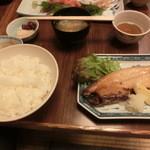 手づくりの味 藍 - 焼魚はサバでした
