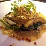 フリッタフラッタ - 本日の魚料理は・・・タラのムニエル