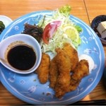 藤 - カキフライランチ750円