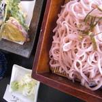 小高 - 桜そば(天ぷら付)850円