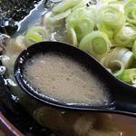 紫蔵 - ラーメン スープ