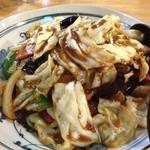 浜やん - ナスと野菜の炒め物