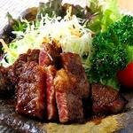 桃の花 - 和牛ステーキ