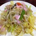 銀座食堂 - 皿うどん太麺