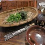 山商蕎麦店 - 料理写真:山商蕎麦店@ざる 840円