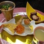 粋松亭 - 前菜