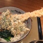すずしろ - 冷やし天ぷら蕎麦 1000円 【 2013年2月 】