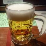 遊喜智 - まずは生ビール
