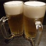 こちら西区高島裏横浜炭焼所 - ビール