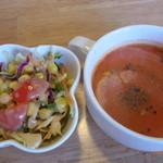 マーヤ - サラダとスープ