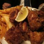 ゆるりや - 鶏の唐揚げ&ポテト