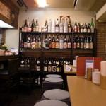 ポルコロッソ - 焼酎や日本酒が一杯