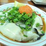 御番菜 こいのぼり - 料理写真:【相生産酢牡蠣@600円】 もみじおろしもセットで♪