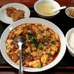 香得莱 - 日替わりランチ700円(この日は麻婆豆腐)