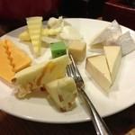ファイブスポット - チーズ盛り合わせ