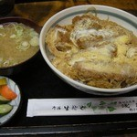 そば処 浅野屋 - カツ丼