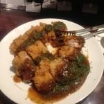 ルセット シェ イイナ - 若鶏のカツレツ デミグラスソース