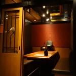 北の味紀行と地酒 北海道 - 案内された個室