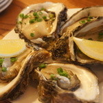 UOKIN ビストロ - 山形県 生岩牡蠣(1個140円)