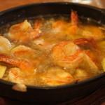 UOKIN ビストロ - 海老のオイル煮~アヒージョ(680円)