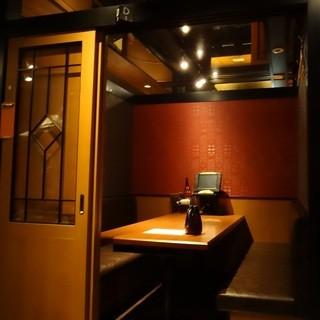 北の味紀行と地酒 北海道 目黒西口店 - 案内された個室