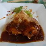 17534818 - 若鶏のオーブン焼きデミグラスソース