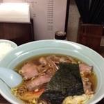 17535270 - チャーシューワンタン麺