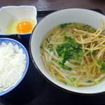 tenukiudommarushin - てぬきランチセット500円