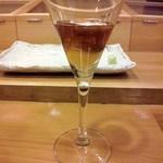 鮨 徳米 - 雲丹と魚卵のジュレカクテル
