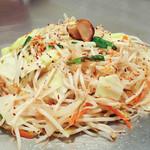 南風 - 鉄板スタミナラーメン・・・ご飯にもお酒にも優秀な相棒!青唐辛子とニンニクが食欲をそそります!