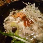 三河すし - 寿司屋なのに中華風な料理も味わえる