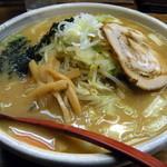 みそまる麺次郎 - 仙台赤味噌らーめん(730円)