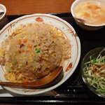 夜来香 FORMOSA - 平日ランチ:五目入り炒飯(700円)