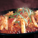 五湯道 - 韓国お餅のコチュジャン炒め、トッポギ。こちらも人気!