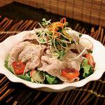 五湯道 - 国産ブランド豚やまと豚使用。豚しゃぶサラダ
