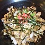 楓々亭 - Aセット(ラーメン+ミニ焼き豚丼)