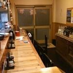 居酒屋「桜」 - カウンターです。
